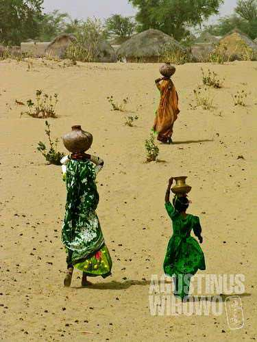 They have to walk for kilometers just to get water
