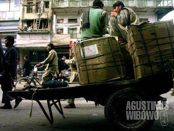 The hustle and bustle of Rawalpindi