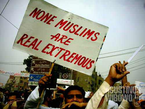 None Muslims are Real Extremous