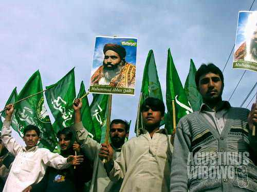 They bring picture of a leader