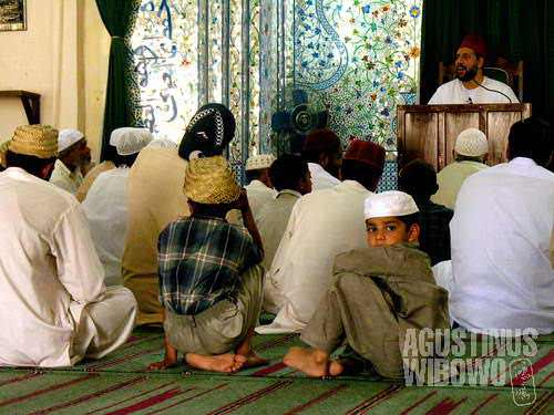 Most mosques are not for women