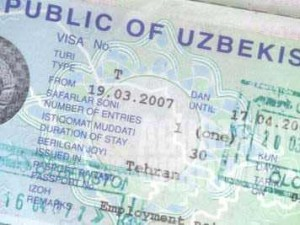 Uzbek visa was really a piece of cake. Smooth and delicious.