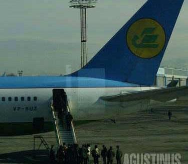 The Uzbekistan Airways