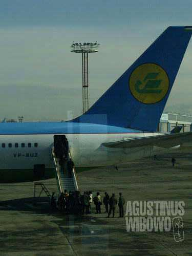 The Uzbekistan Airways