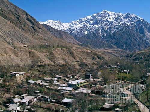 "Shakhimardan, an Uzbek ""island"" surrounded by Kyrgyzstan"