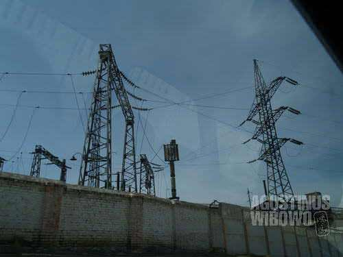 Kyrgyzstan is exporter of electricity. The availability of electric infrastructure is an obvious sight of Kyrgyzstan, including the small village of Qadamjoy