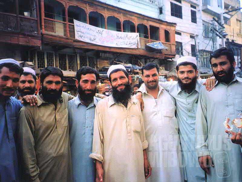 Sambutan hangat orang-orang Pashtun (AGUSTINUS WIBOWO)