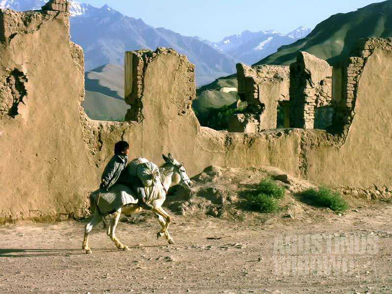 Reruntuhan kota tua Bamiyan (AGUSTINUS WIBOWO)