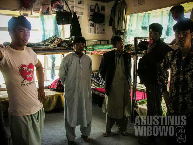 5.Asrama para mahasiswa di Bamiyan. (AGUSTINUS WIBOWO)