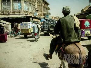 Semua tampak normal di Kandahar (AGUSTINUS WIBOWO)