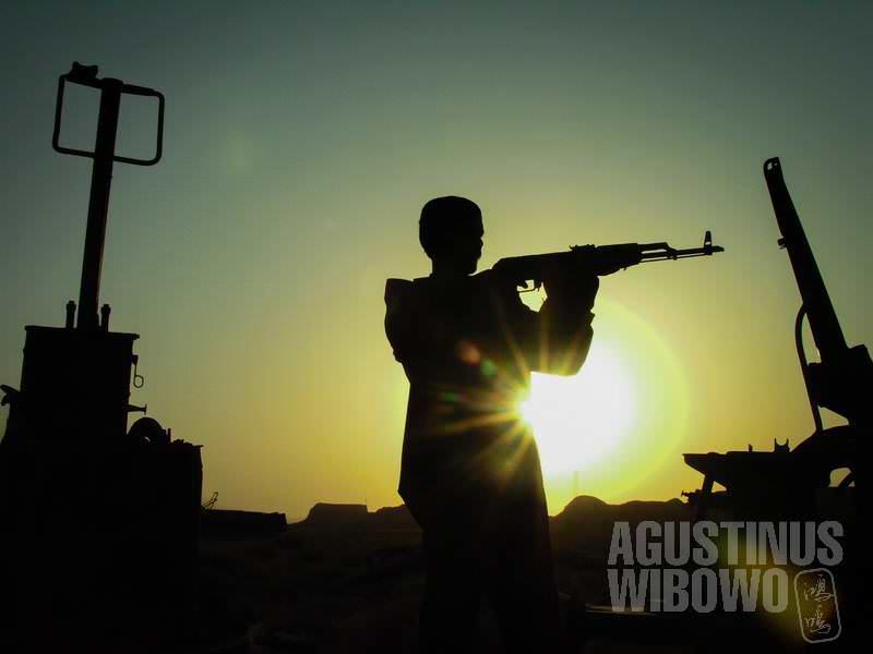 5.Penjaga senjata di Bala Hissar (AGUSTINUS WIBOWO)