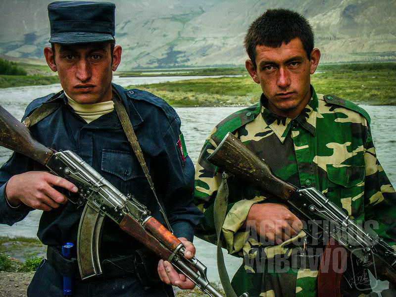 3.Para tentara yang berangkat ke perbatasan Tajikistan (AGUSTINUS WIBOWO)