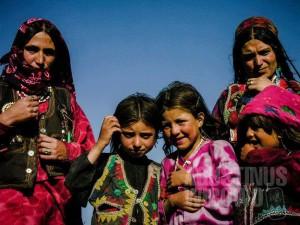 1.Para perempuan di Wakhan jauh lebih terlihat daripada saudari-saudari mereka di bagian lain Afghanistan (AGUSTINUS WIBOWO)