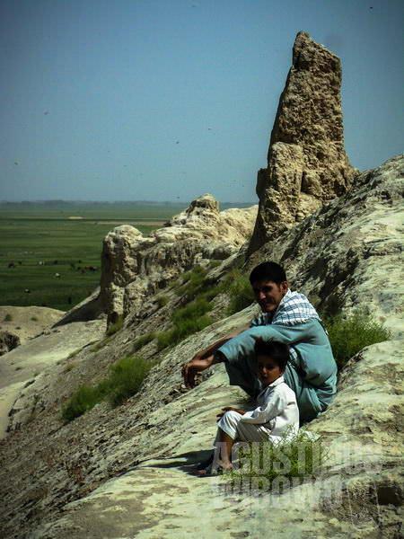 2.Reruntuhan Bala Hissar yang telah menjadi saksi peperangan ratusan tahun (AGUSTINUS WIBOWO)