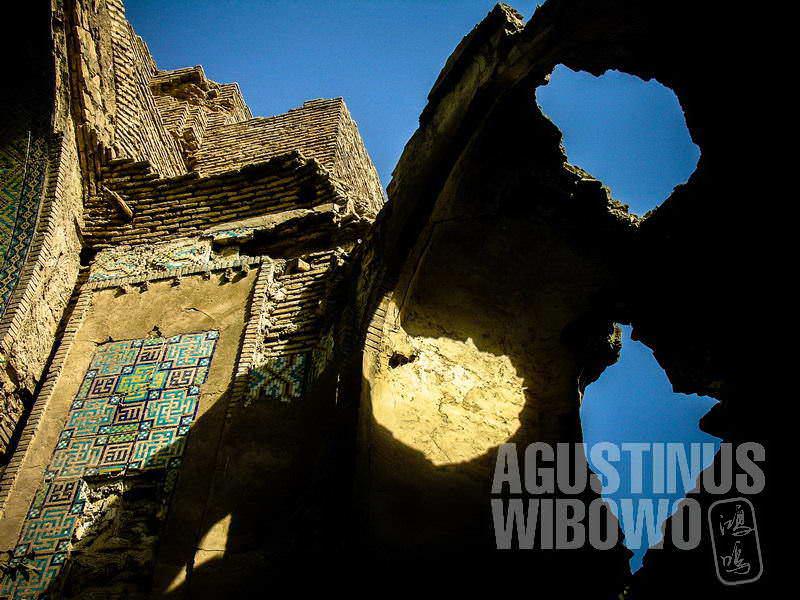 6.Balkh, dulunya adalah pusat peradaban. Kini yang tersisa adalah reruntuhan. (AGUSTINUS WIBOWO)