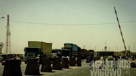 1.Perbatasan Afghanistan-Iran, sangat sensitif untuk fotografi (AGUSTINUS WIBOWO)