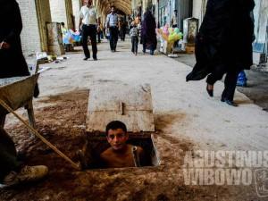 1.Pengungsi Afghan sering direndahkan oleh orang Iran (AGUSTINUS WIBOWO)