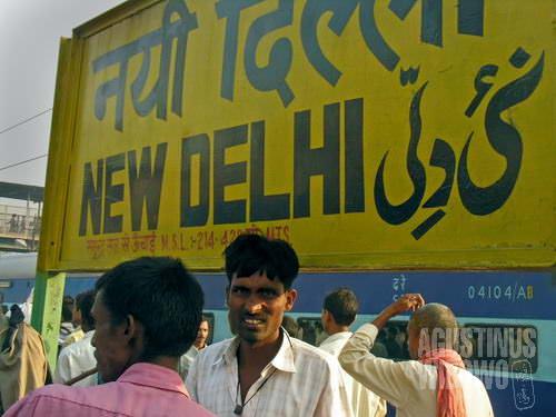 Selamat datang di New Delhi. (AGUSTINUS WIBOWO)