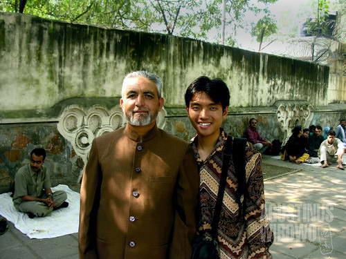 Seorang pedagang dari Srinagar di Kashmir, salah satu pendukung saya untuk terus tetap berjuang demi visa Pakistan. (AGUSTINUS WIBOWO)