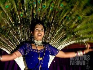 Festival tarian Rajasthan. (AGUSTINUS WIBOWO)