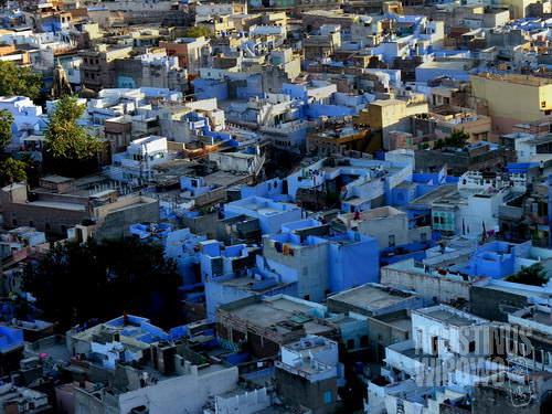 Kota biru Jodhpur. (AGUSTINUS WIBOWO)