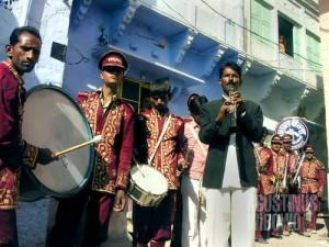 Band kawinan. (AGUSTINUS WIBOWO)
