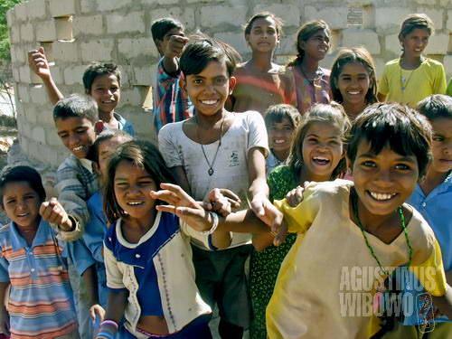 Walaupun hidup dirundung kemiskinan, mereka tak akan mengorbankan alam (AGUSTINUS WIBOWO)