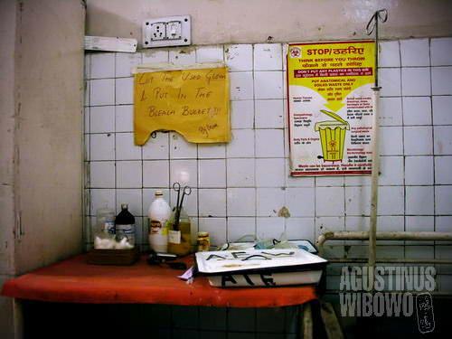 Fasilitas rumah sakit Lady Hardinge (AGUSTINUS WIBOWO)