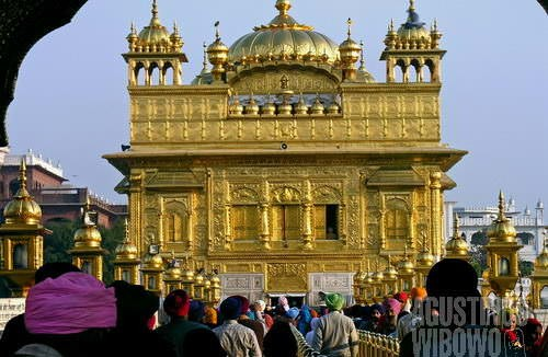Kuil emas Guru Granth Sahib (AGUSTINUS WIBOWO)