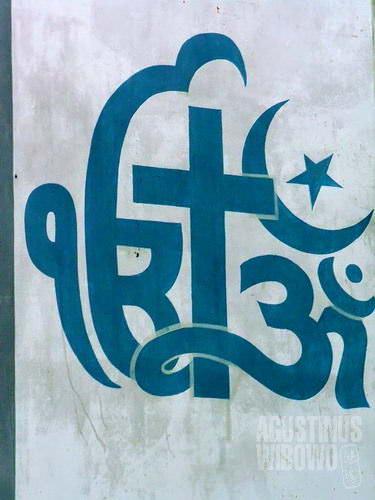 Beragam agama hidup bersama di India (AGUSTINUS WIBOWO)
