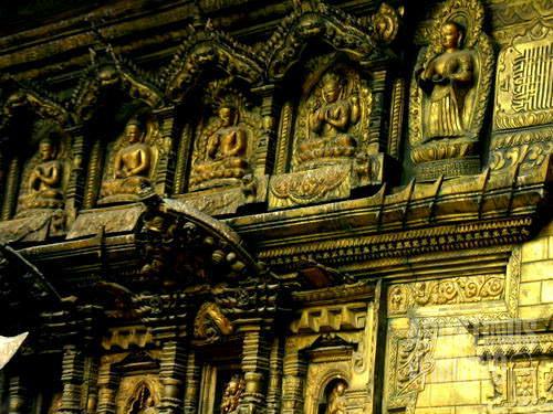 Kuil Emas umat Budha. (AGUSTINUS WIBOWO)