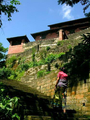 Gorkha Durbar di puncak bukit. (AGUSTINUS WIBOWO)