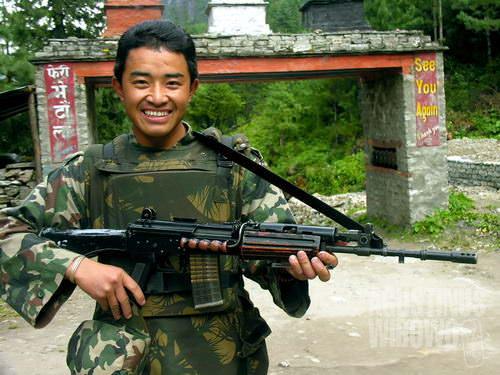 Tentara Kerajaan Nepal (AGUSTINUS WIBOWO)