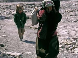 Para peziarah dalam perjalanan menuju Muktinath. (AGUSTINUS WIBOWO)