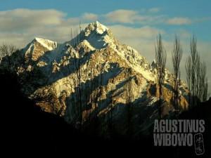 Hunza, tanah di barisan gunung salju Karakoram, adalah rumah kaum Ismaili (AGUSTINUS WIBOWO)