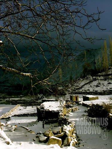 Desa mati yang ditinggal penduduknya di musim dingin (AGUSTINUS WIBOWO)