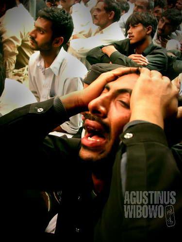 Kematian Hussain diperingati setiap tahun di bulan Muharram (AGUSTINUS WIBOWO)