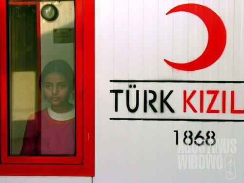 Rumah permanen yang dibangun oleh Sabit Merah Turki (AGUSTINUS WIBOWO)