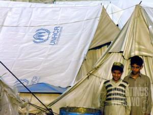 Perkemahan pengungsi  IHH (AGUSTINUS WIBOWO)