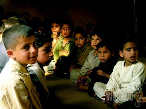 Bocah-bocah belajar agama di kamp pengungsi Turki (AGUSTINUS WIBOWO)