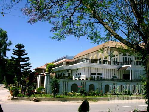 Rumah mewah bertabur di Islamabad (AGUSTINUS WIBOWO)