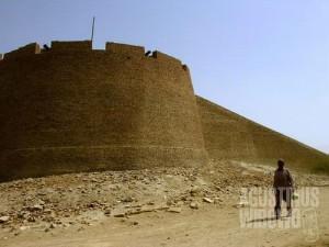 Benteng kota Umerkot (AGUSTINUS WIBOWO)