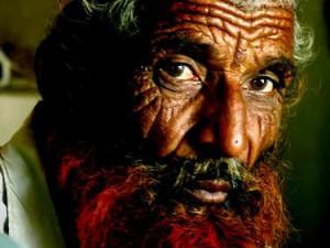 Kakek Muslim berjenggot merah (AGUSTINUS WIBOWO)