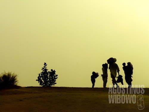 Gurun pasir (AGUSTINUS WIBOWO)
