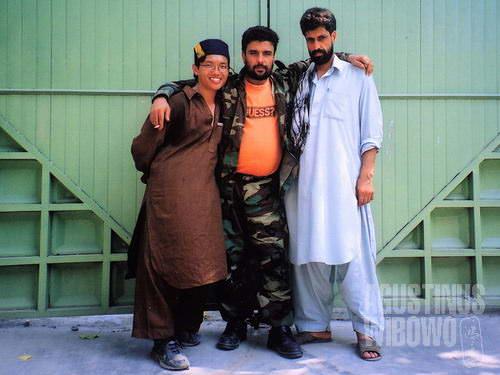 Agus dalam perjalanannya di Afghanistan. (Dok. pribadi)
