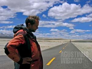 Hans, penjelajah Tibet sejati. (AGUSTINUS WIBOWO)