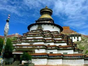 Kuil Selaksa Budha. (AGUSTINUS WIBOWO)