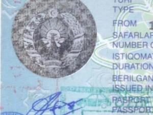 The struggle to get an Uzbek visa sticker
